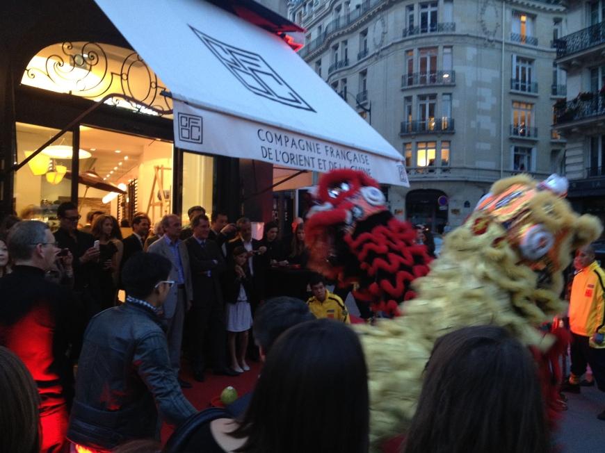 Dragons Dancing Compagnie Française de l'Orient et de la Chine
