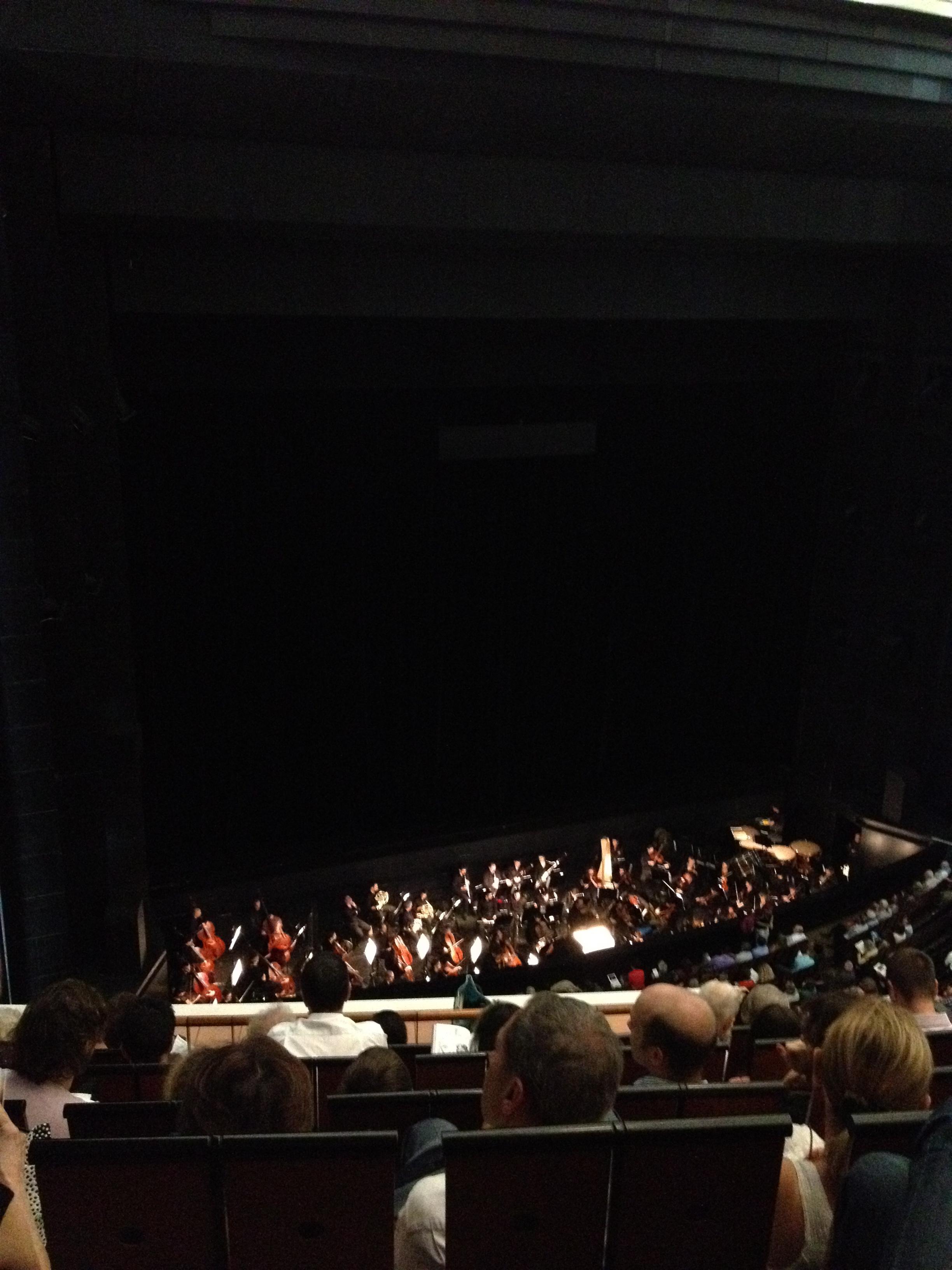 Orchestra at Opera Bastille