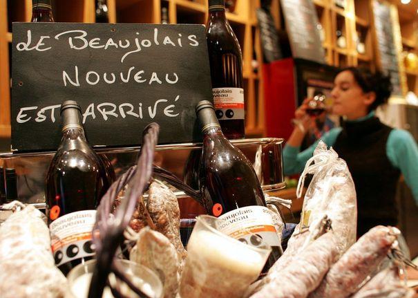 le Beaujolais Nouveau est arrivé paris 2012 france wine