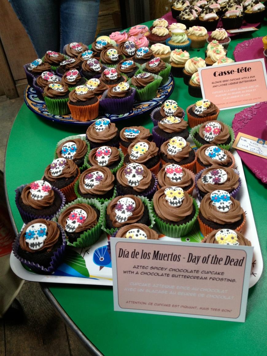 Cupcake Camp 2012 Paris Dia de los Muertos Cupcakes