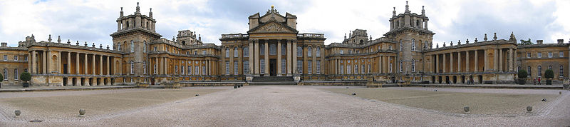 Blenheim Palace castle england english castle downton abbey