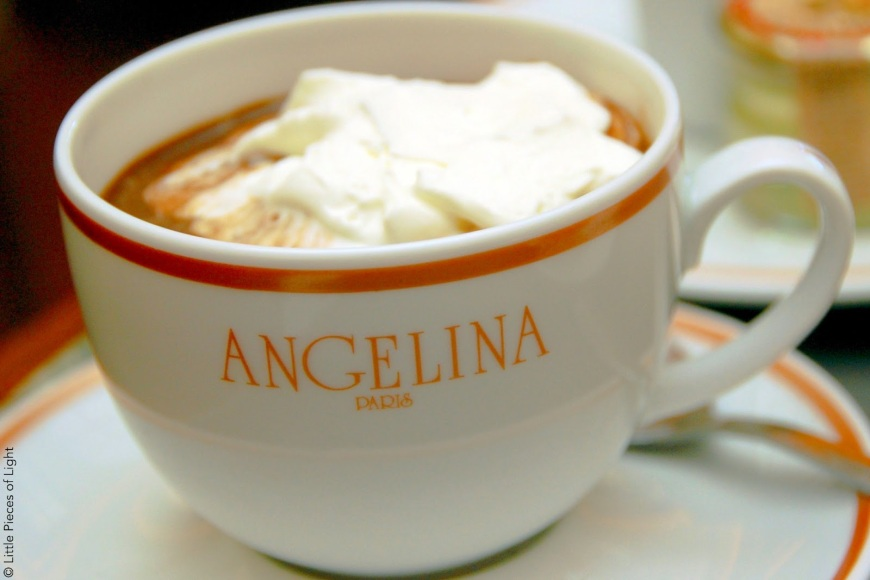 Angelina hot chocolate angelina salon du the salon de the chocolat chaud patriciaparisienne