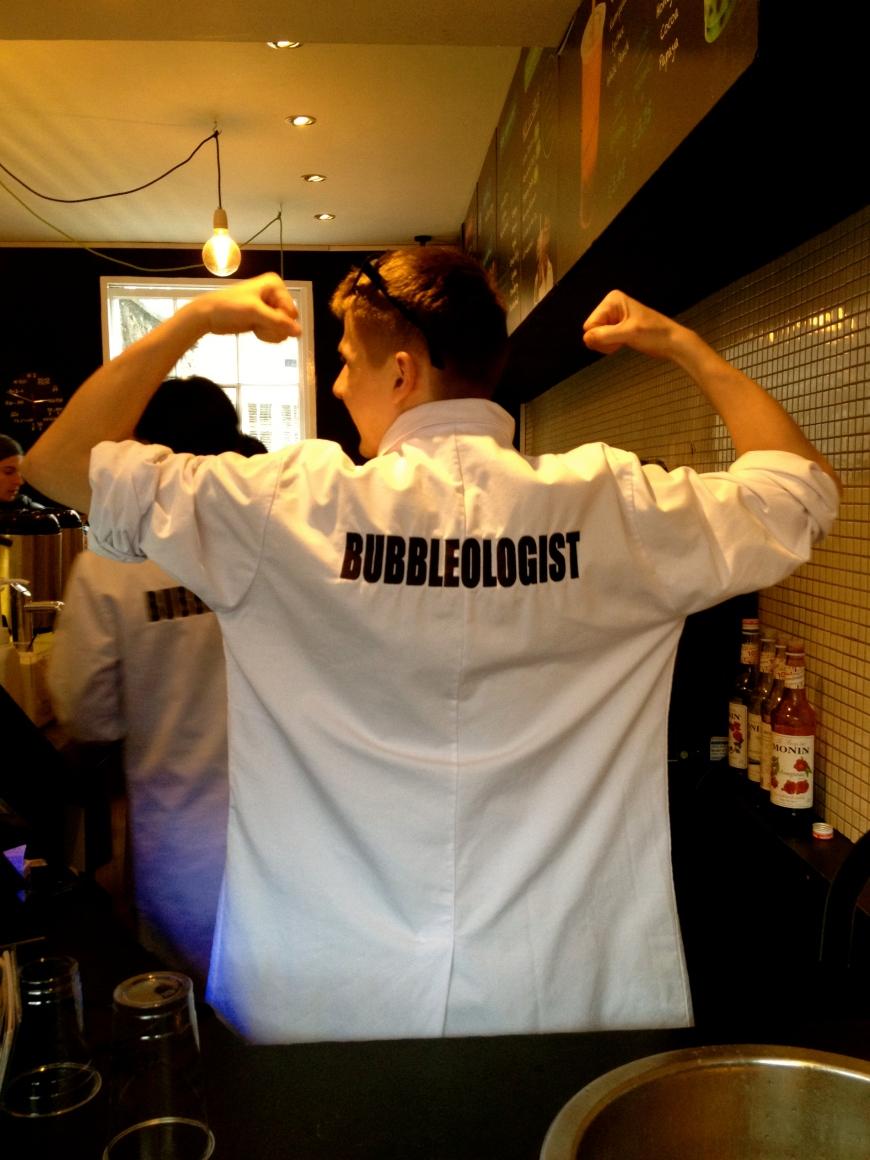 Bubbleology London Notting Hill Boba tea singapore bubbleologist