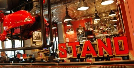 Le Stand Restaurant Montparnasse 14e arrondissement Edgar Quinet Restaurant americain italien
