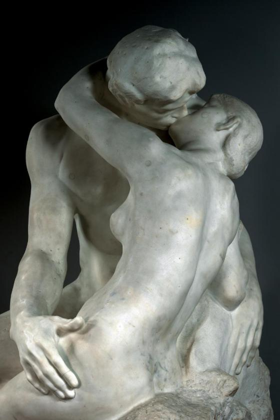 Museums are FREE this Sunday! The Kiss Rodin sculpture musee rodin paris