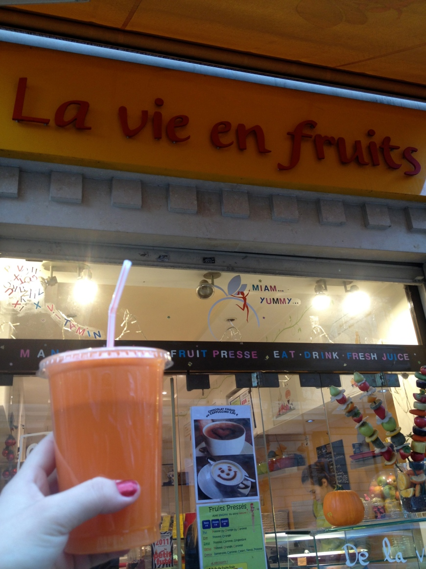 la vie en fruits paris saint germain 75005 boulevard saint germain smoothies fresh juices in paris jus paris