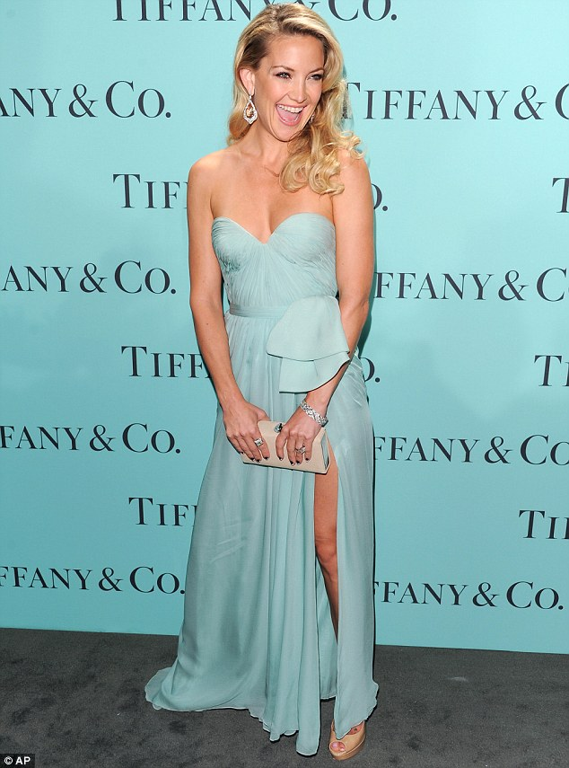 Kate Hudson Reem Acra Dress Tiffany & Co.