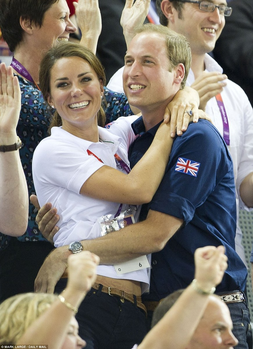 kate and will will and kate prince william kate middleton second anniversary pregnancy royal baby olympics team great britain