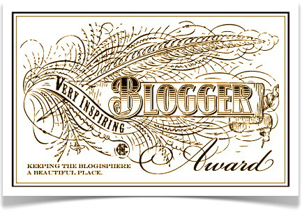 very inspiring blogger award patriciaparisiene a french american life