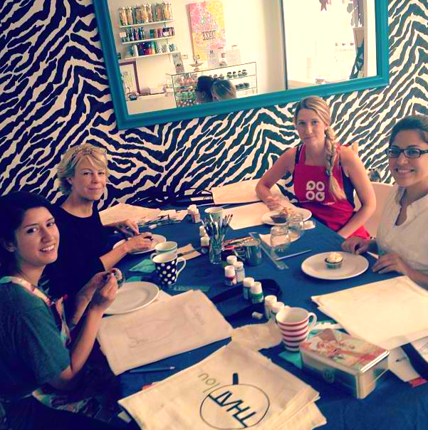 Ladies at work!  Image credit: Kasia Dietz Instagram (@kasiainparis)