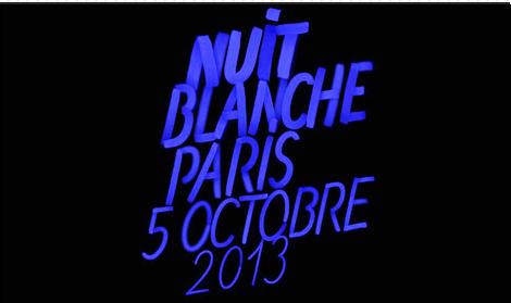 nuit blanche paris le 5 octobre 2013