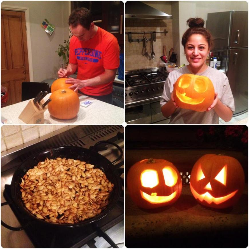 pumpkin carving happy halloween 2013 paris candy trick or treating pumpkin seeds