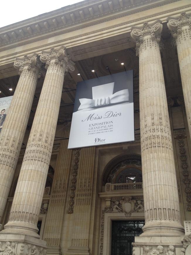 Miss Dior Paris exhibition exposition Grand Palais PatriciaParisienne