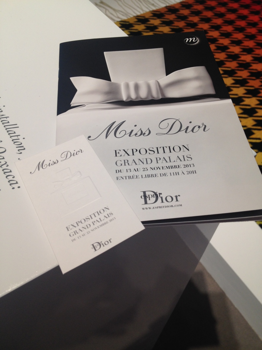 Miss Dior exposition exhibition Dior LVMH PatriciaParisienne