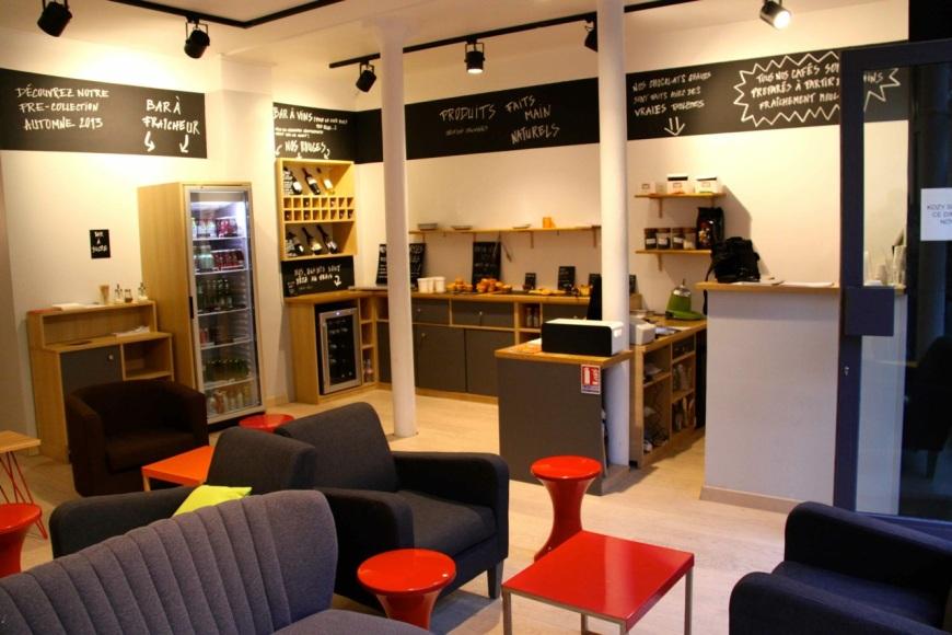 Kozy Paris Salon Urbain patriciaparisienne cafe coffee shop 75007 7e arrondissement