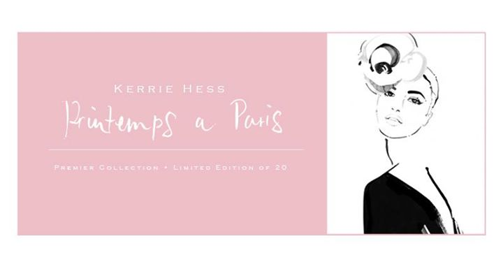 Printemps a Paris ltd edition