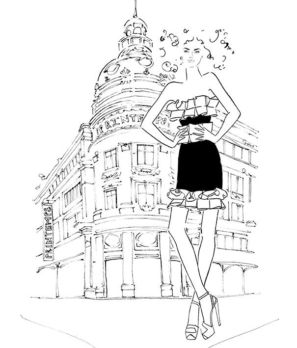 printemps paris kerrie hess illustrations