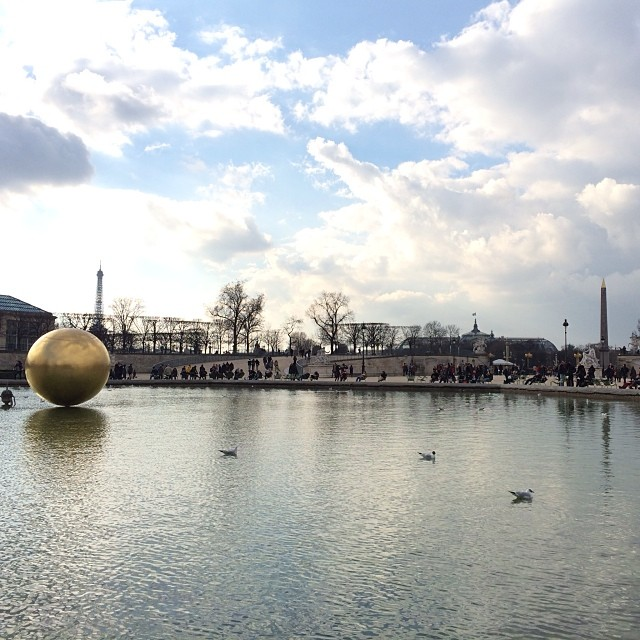 The Tuileries on March 1, 2014
