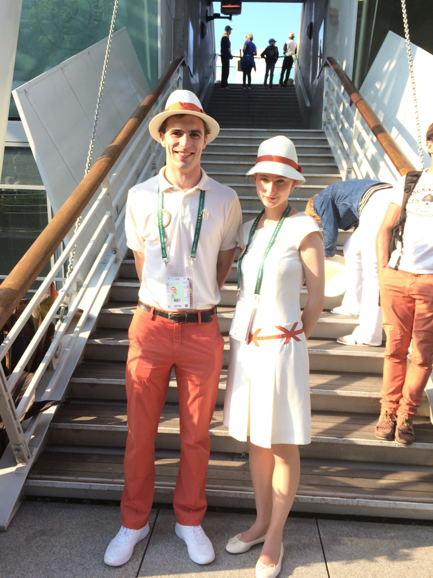 roland garros french open 2014 france tennis outfits