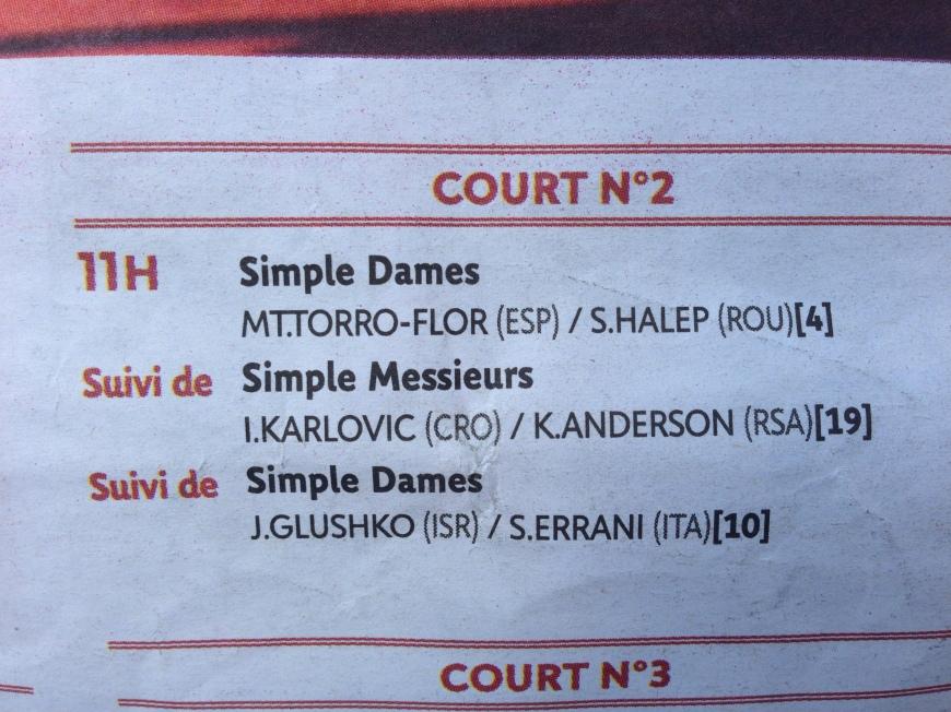 roland garros court 2 french open tennis