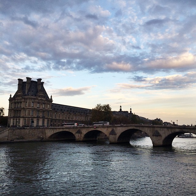 seine picnic patriciaparisienne summer 2015 facebook blogger paris france river bridge